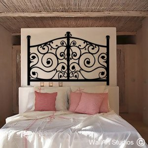 Wrought Iron Wall Art Decals
