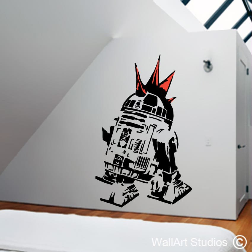 Awesome Star Wars Wall Stickers Uk Amazing Design