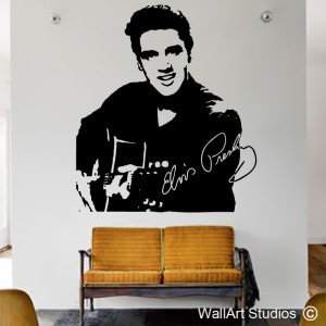Elvis Presley Wall Art Stickers