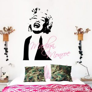 Marilyn Monroe Wall Art Stickers