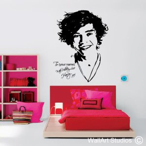 Harry Styles Wall Art Decals