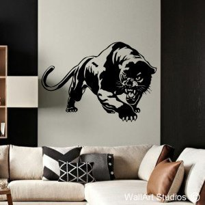 Panther Wall Art Decal