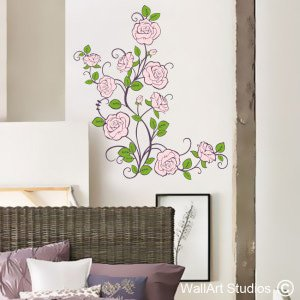 Roses Wall Art Decals