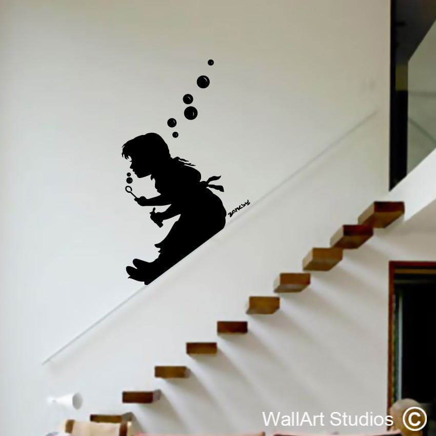 banksy street art wall art archives wallart studios. Black Bedroom Furniture Sets. Home Design Ideas
