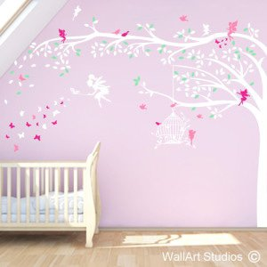 Enchanted Forest Wall Art Stickers