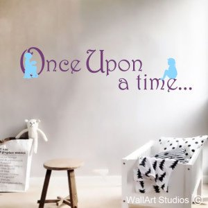 Once Upon a Time Wall Art Decals