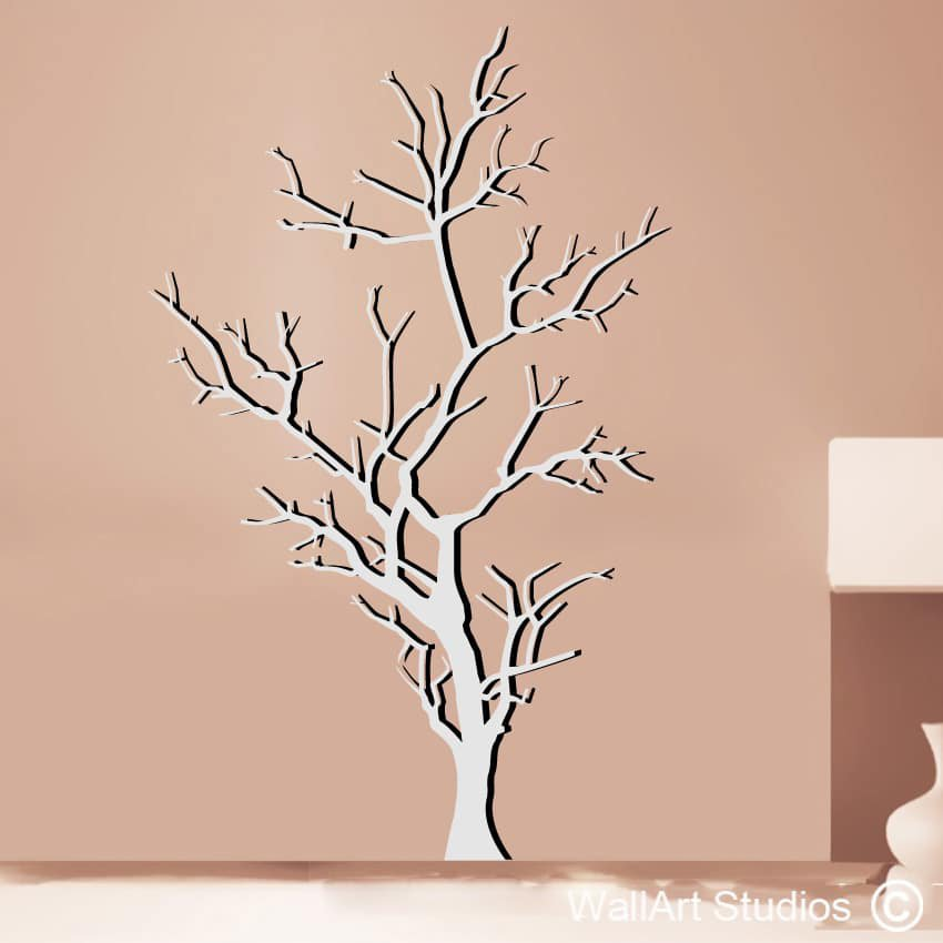 Barren Tree Wall Art Stickers  sc 1 st  Wall Art Stickers & Tree Wall Art | Nature Wall Art Stickers | Wall Art Studios UK