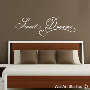 Sweet Dreams Wall Art Decals, Quotes