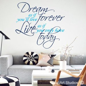 James Dean Wall Art Stickers