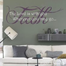 Religious Quotes Wall Art Vinyls