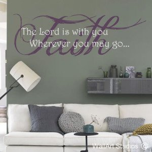 Faith Wall Art Stickers