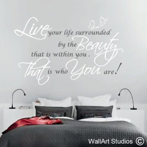 Beauty Wall Art Decals