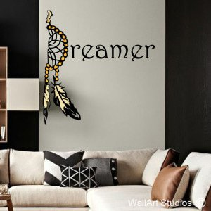 Dreamer Wall Art Stickers
