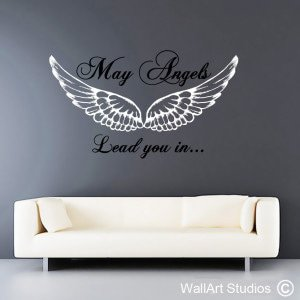 May Angels Wall Art Stickers