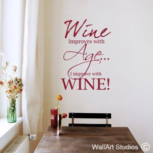 Wineage Wall Art Stickers
