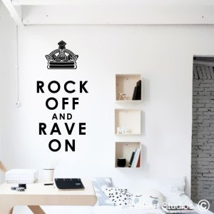 Rock On Wall Art Decals