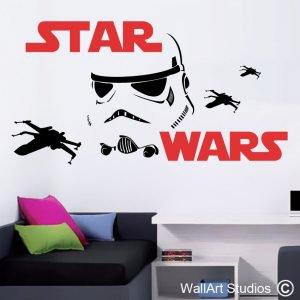 Star Wars Stormtrooper Wall Art Stickers