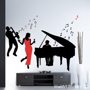 All That Jazz Wall Art Stickers