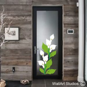 NF26 Arum Lily Wall Art Sticker