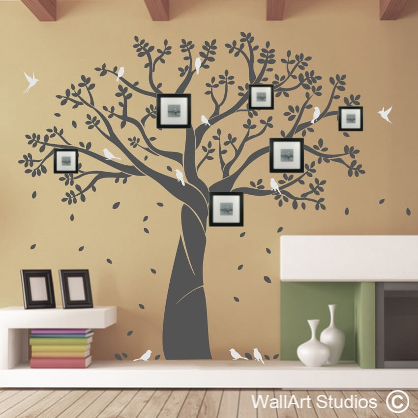 Tree Wall Art | Nature Wall Art Stickers | Wall Art Studios UK