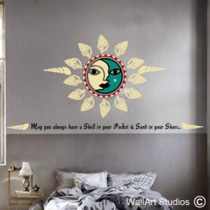 Shell in Your Pocket, Sand in Your Shoes Wall Art Decals