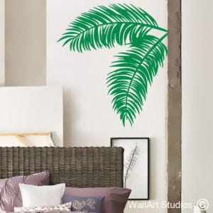 Palm Leaves Wall Art Decal