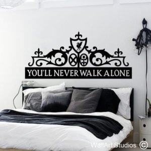 Liverpool Headboard Wall Art Decal