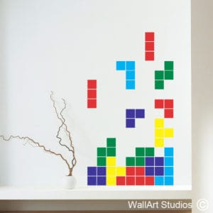 Tetris Wall Art Sticker