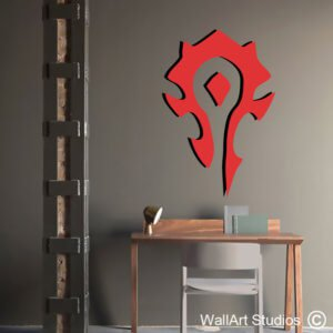 World of Warcraft Horde Wall Sticker