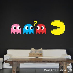 Pacman Retro Wall Sticker