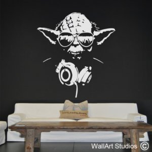 YO Yoda Wall Decal