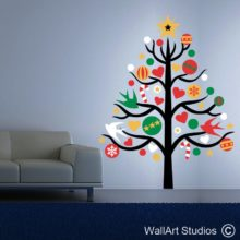 Christmas Wall and Glass Stickers